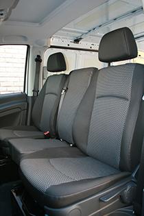 Mercedes Benz Vito Cabin Jump Seat Conversion