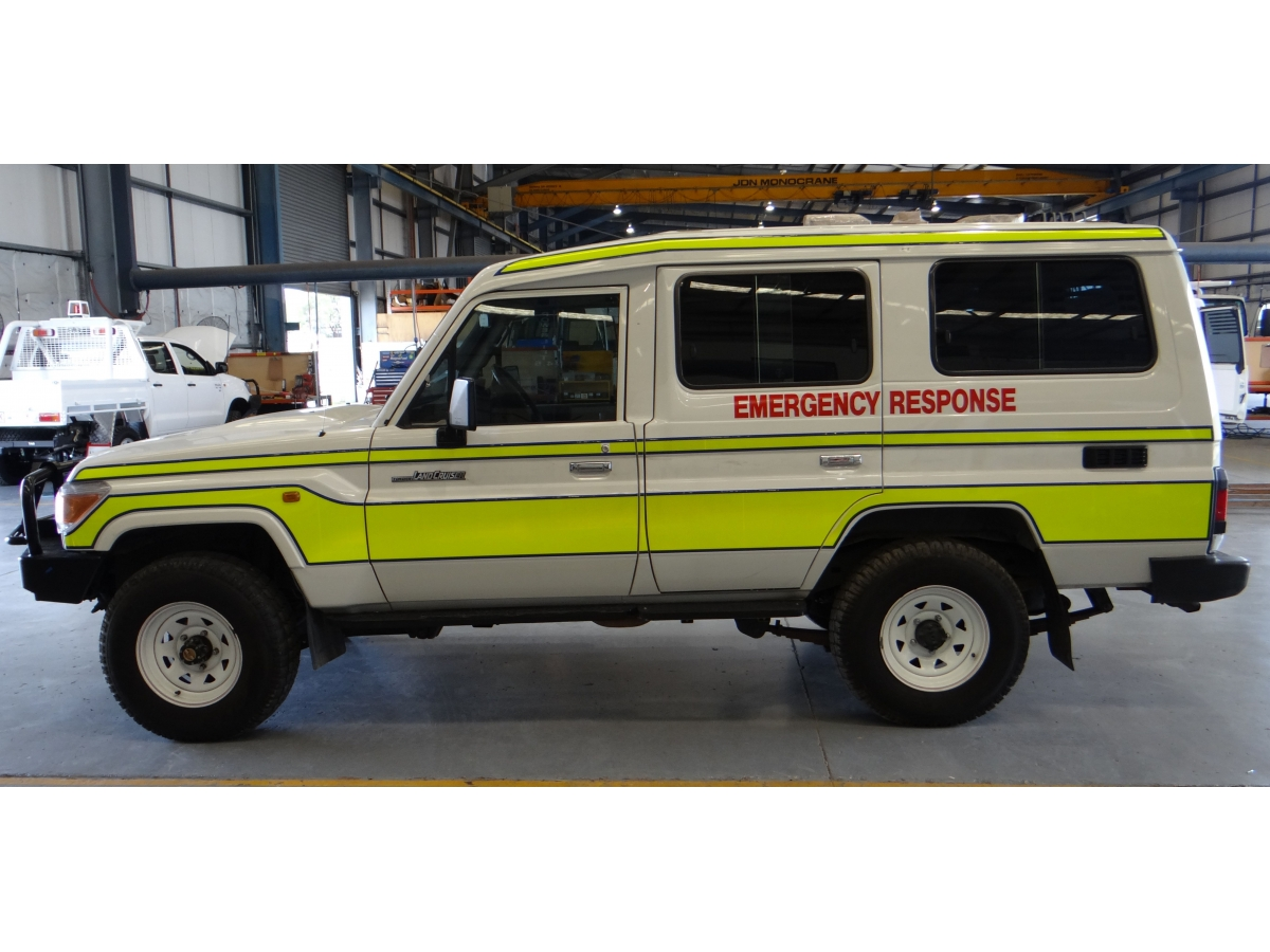 Case Study - Toyota Land Cruiser Troop Carrier LC78 Series 7