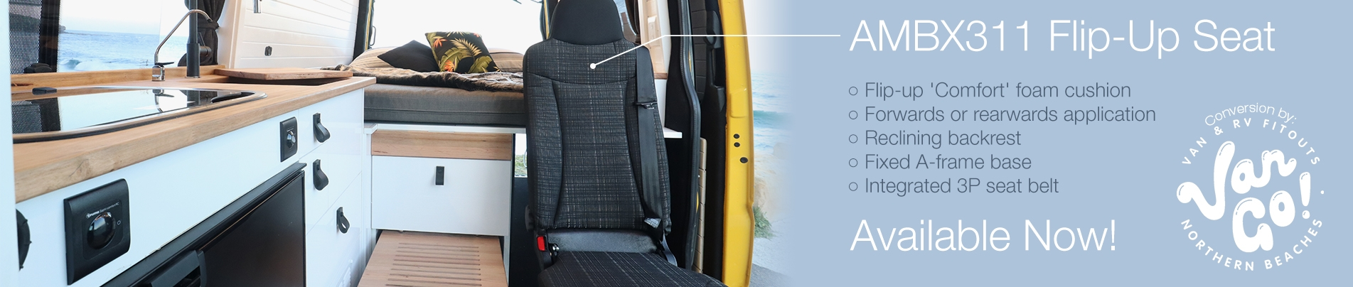 Van Go! AMBX311 Flip-Up Seat